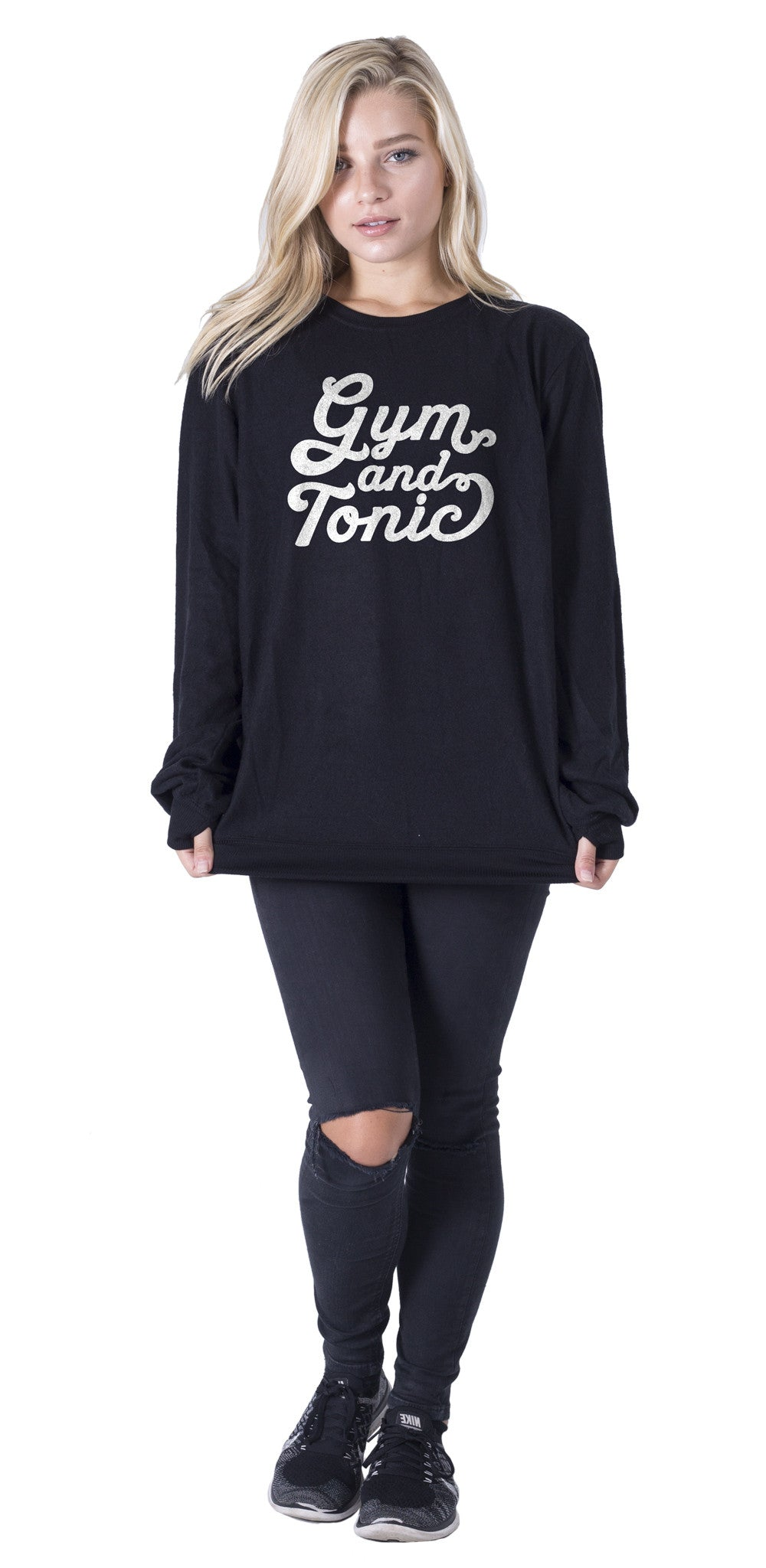 Gym & Tonic Pullover - Social Decay