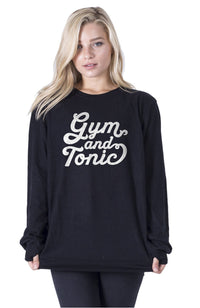 social sunday gym and tonic pullover sweatshirt