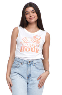social sunday happy hour muscle tee