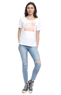 social sunday happy hour short sleeve t shirt tee