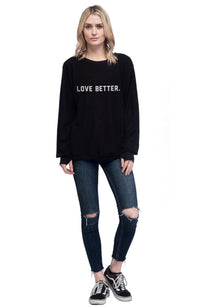 social sunday one love foundation love better pullover