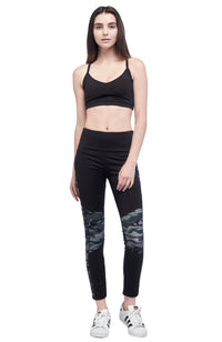 Seams Lovely Black Banded Legging