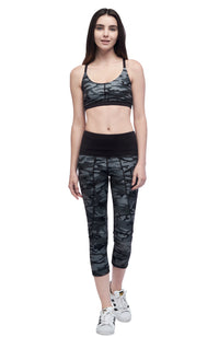Seams Lovely Lotus Sports Bra – Camo