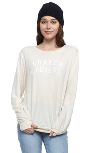 social sunday longer weekends pullover sweatshirt