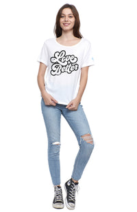 social sunday one love foundation love better tee shirt