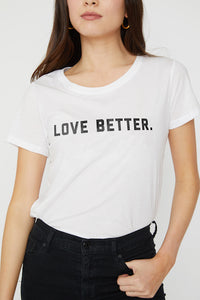 Love Better v. 2 Short Sleeve Tee