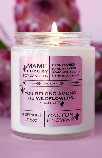 mame soy hand poured candles