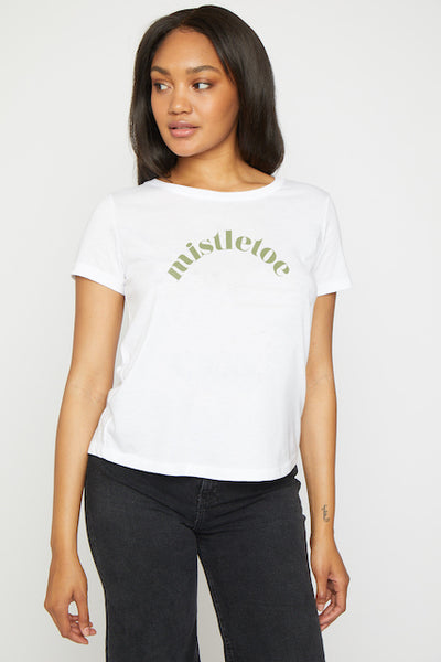 Mistletoe Short Sleeve Tee