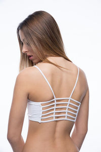 Seams Lovely Fence Back Bralette - Social Decay  - 3