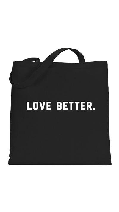 social sunday one love foundation love better tote bag