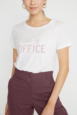 Out Of The Office Short Sleeve Tee