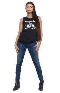 SOCIAL SUNDAY ROCK & ROLL MUSCLE TEE
