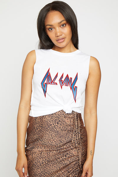 Rocker Girl Muscle Tee