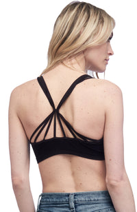 Seams Lovely Lace Up Bralette