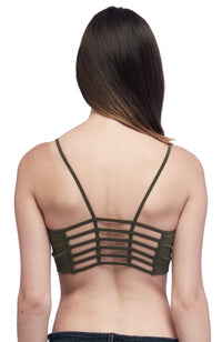 Seams Lovely Fence Back Bralette