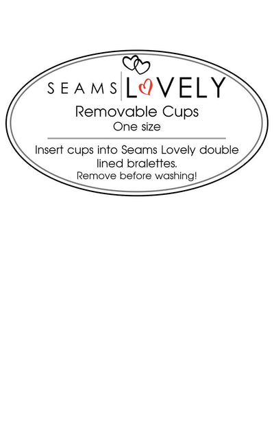 Seams Lovely Removable Cups