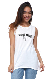 Veg Out Muscle Tee
