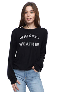SOCIAL SUNDAY WHISKEY WEATHER PULLOVER SWEATSHIRT