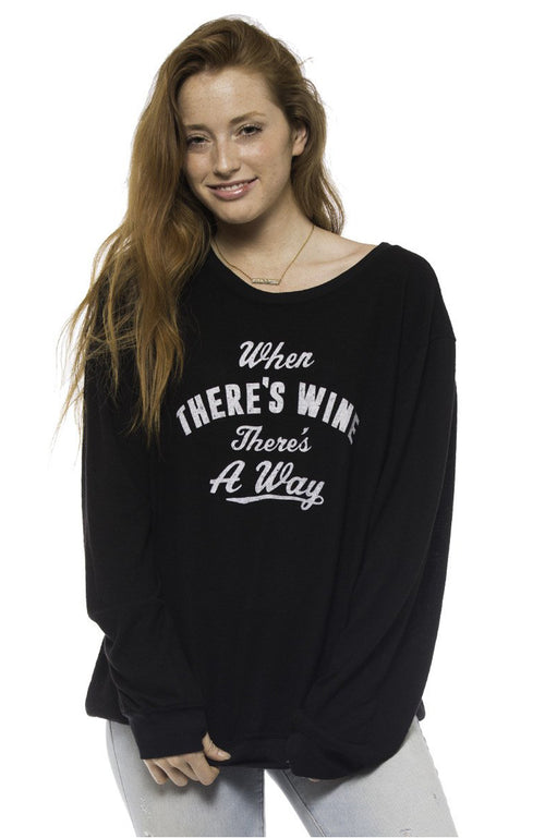Wine Away Pullover