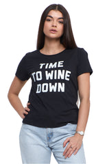 Wine Down Short Sleeve Tee