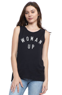 SOCIAL SUNDAY WOMAN UP MUSCLE TEE