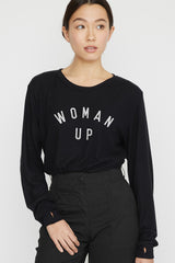 Woman Up Pullover