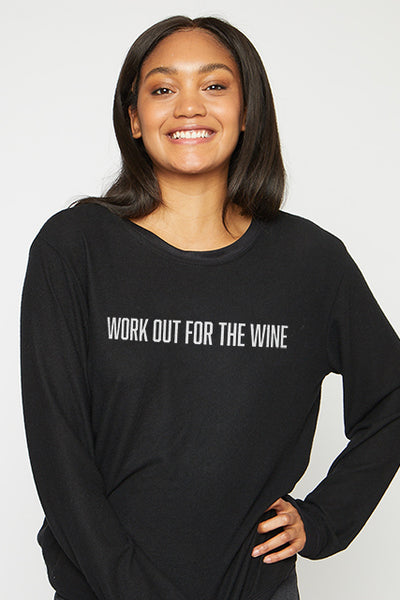 Workout Wine Pullover