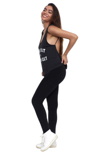 social sunday hang out and work out activewear top