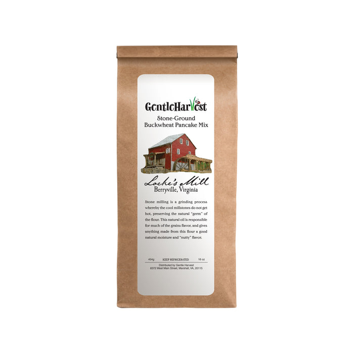 Buckwheat Stone-Milled Pancake Mix from Locke's Mill