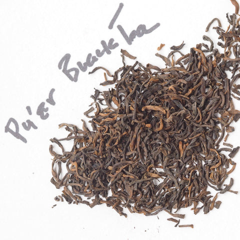 Pu'er Aged Black Yunnan Tea