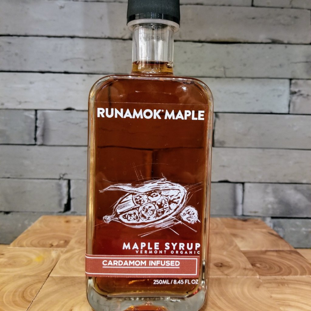 Runamook Organic Maple Syrup: Cardamom Infused