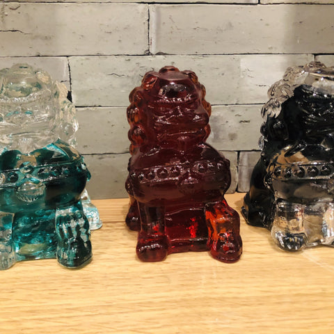 Glass Foo Dog