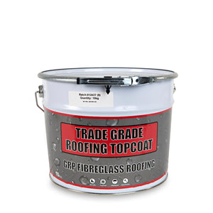 GRP Roofing Topcoat /Free Catalyst/ Free Delivery