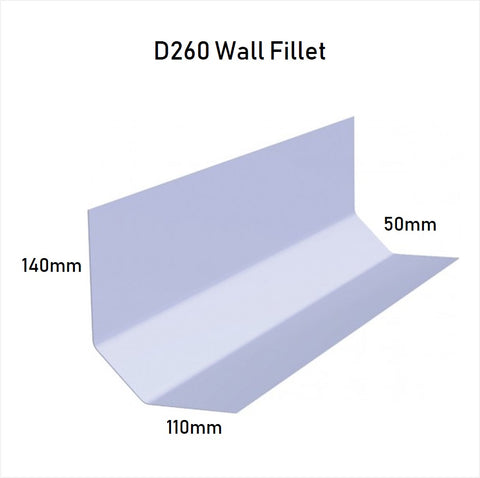 Image of D260 Wall Flashing Trim