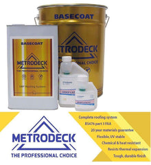 Metrodeck Fire Retardant Roofing Kits BS476 Part 3 FAB.