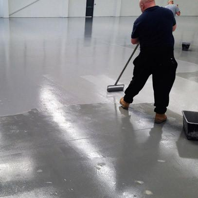 Non Slip Solvent Free Epoxy Floor Coating