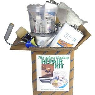 Quality Fibreglass Repair kits, for boats ,and roofing