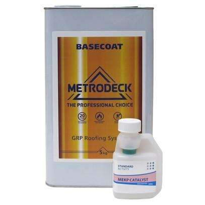 Metrodeck  Roofing Resin Fire rated to BS476 Part 3 FAA.