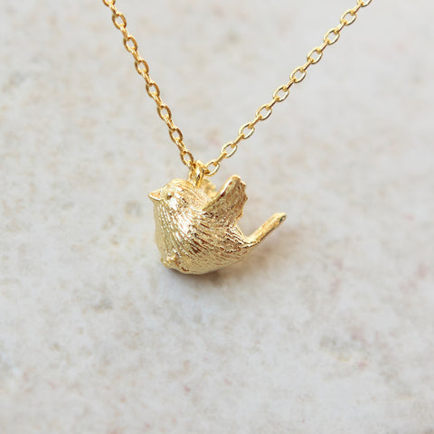 Caged Bird Necklace