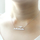 Africa Skyline Necklace