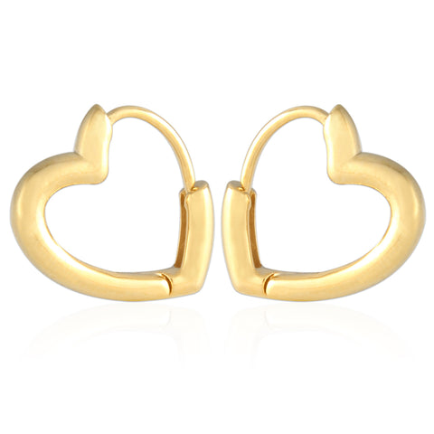 11MM_Thick Huggie Bold Cuff Earrings Small Hoop Earrings