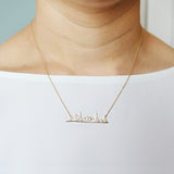 New York Cityscape Necklace