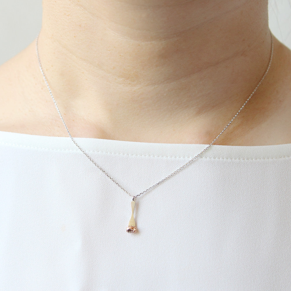 Fork and Spaghetti Necklace