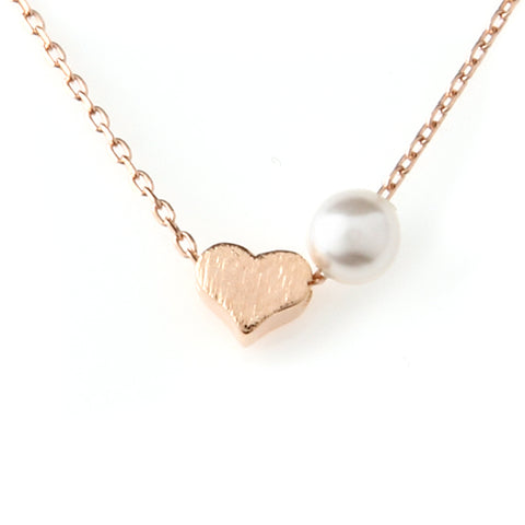 Heart Simple Shape Necklace 925 sterling silver