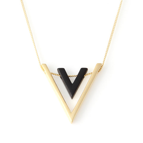 Wood Arrow Necklace