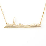 Paris Cityscape Necklace