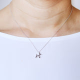 925 Sterling Silver Balloon Dog Necklace