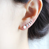 Moon Phases Ear Climber