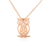 Little Owl Necklace in 925 sterling silver