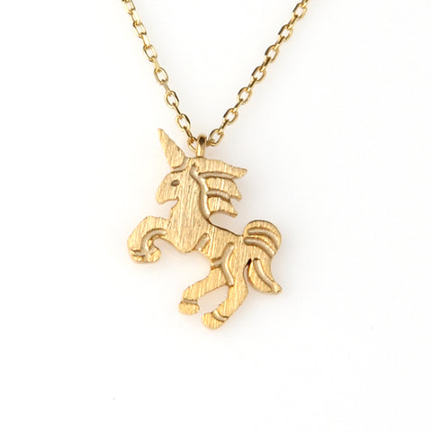 Little T-Rex Pendant Necklace